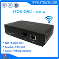 Optical network ftth gepon 1FE WIFI onu compatible with Huawei/ZTE olt