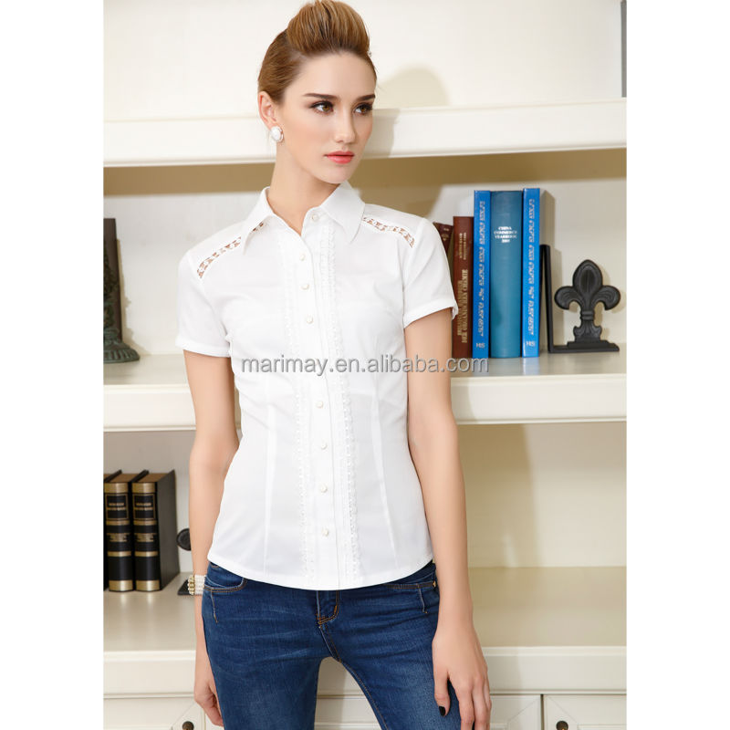 2014 wholesale fashion office uniform designs for women shirt work clothes,womens plus size clothing brand clothes