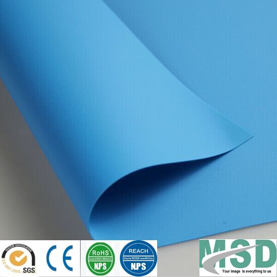 Anti-UV PVC Coated Tarpaulin for Outdoor Swimming Pool Cover/Swimming Pool Accessories