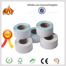 High quality blank thermal label for zebra, CAS with cheap price