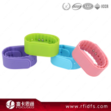 waterproof Children silicone NFC wristbands for Swimming pool