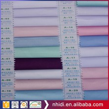 Hospital uniform material textile plain woven tc medical fabric dyed