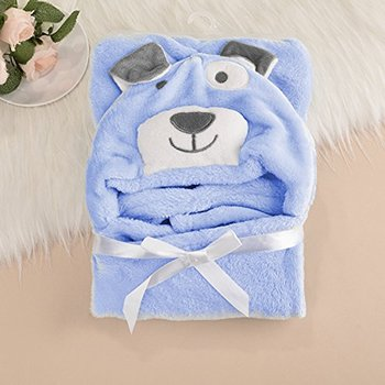 100 cotton terry towel bear embroidered baby hooded towel