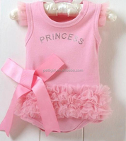 2016 Girls Baby Bodysuits Pink Creepers Bow Baby Rompers Flower Summer Wholesale Carters Baby Clothes RR40318-11