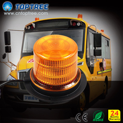 High power Car Truck LED Magnets Strobe Light Warning light Beacon LED Emergency Strobe Light