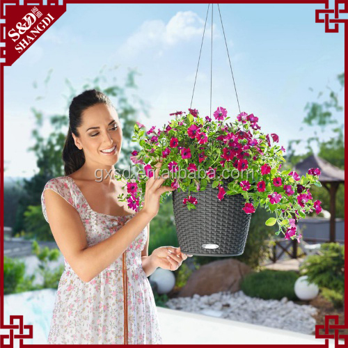 Garden Raised Planter for flower bed flower pot hanger wire