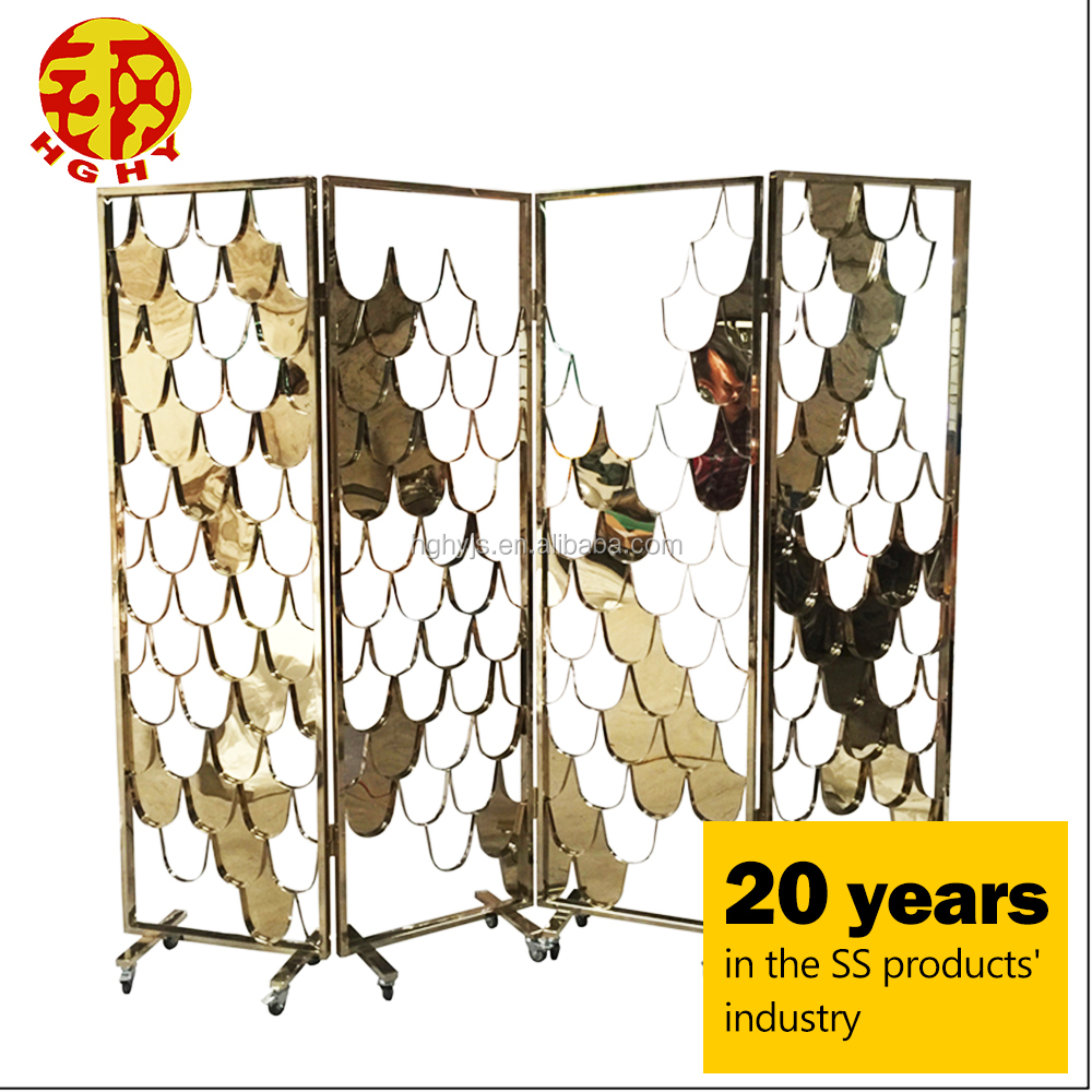 cutting board pop up screen room stainless steel small decorative mini folding screen