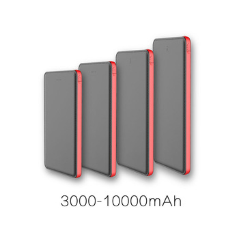 2017 new products power bank 10000/8000mah ROHS power bank slim power bank