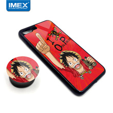 One Piece pictures mobile phone case 360 silicone protective sleeve couple mirror phone case for Samsung S8 Plus