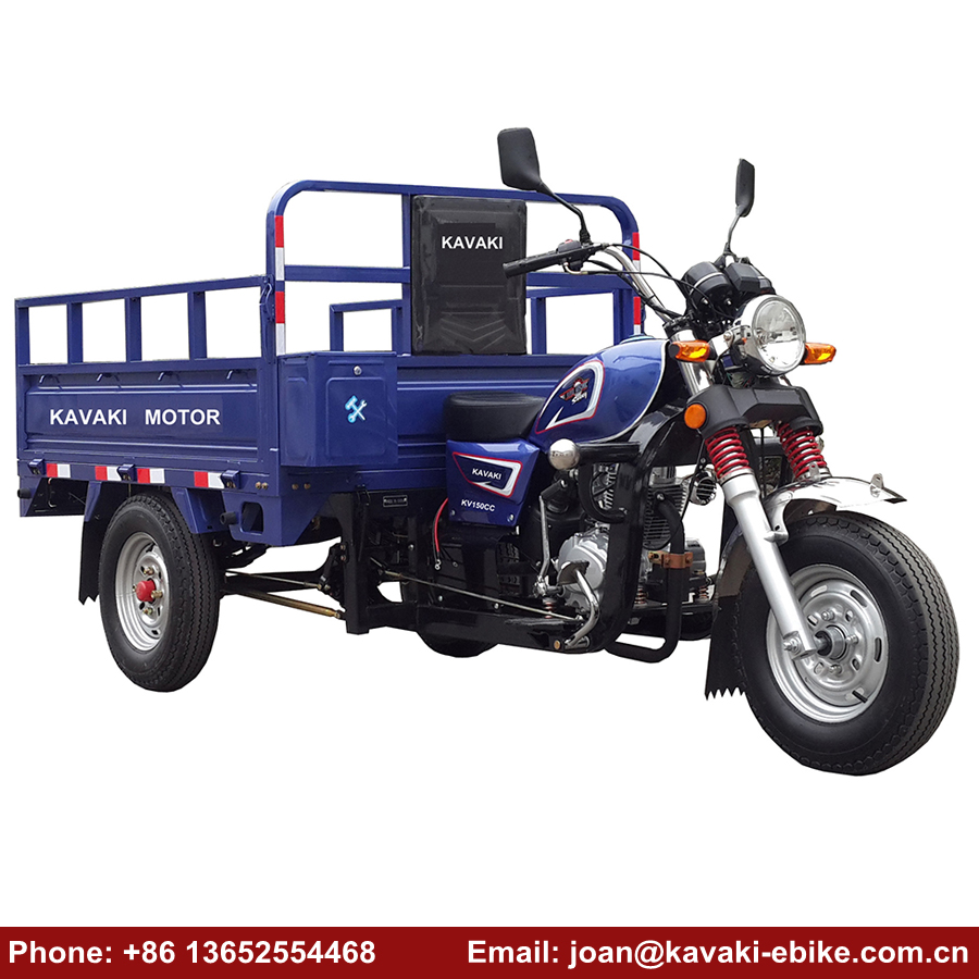China Suppliers Best Selling New Bajaj Pulsar 150cc Price Cargo Tricycle 3 Wheel Motorcycle Diesel Engine Products