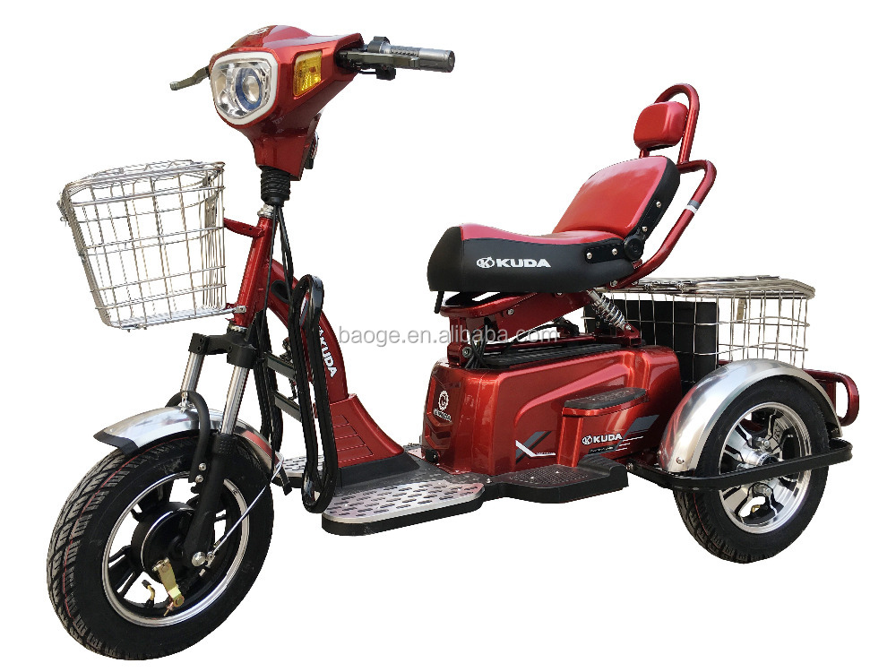 Cheap radio flyer Electric tricycles with 3 wheeler auto rickshaw