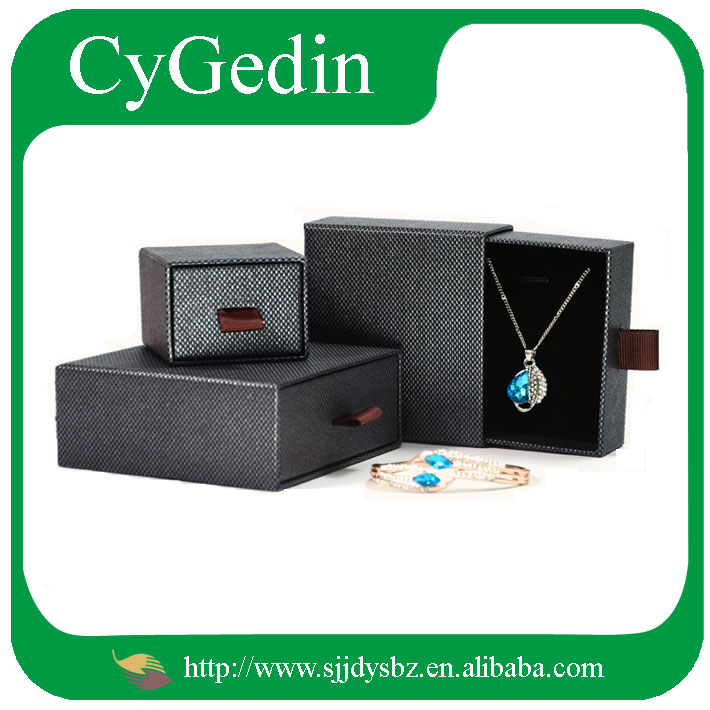 Customized Drawer Divider Jewelry Gift Boxes Cardboard