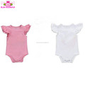 Baby frock top 100 baby names picture wholesale kid clothes blank playsuit romper triple layer cotton sleeveless flutter romper