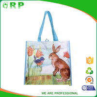 Eco-friendly cotton shopping bag customized promotional carry bag