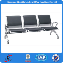 JZD Public area stainless steel patients waiting room beam chair