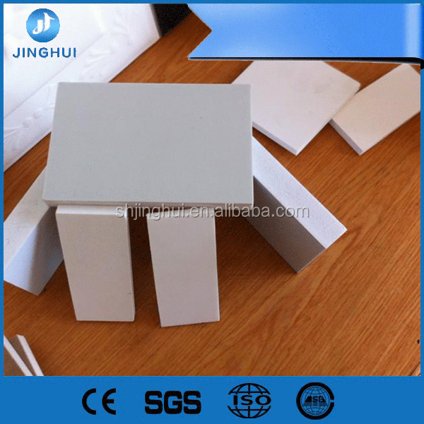 safe to use 3mm pvc foam board/ model wall stand/pvc white forming for Advertising Signs
