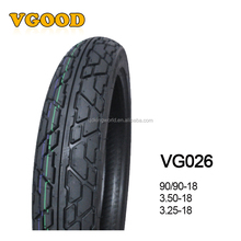High Quality Kingworld Natural Rubber Motorcycle Tubeless Tyre 3.50-18 3.25-18 3.50-16 3.25-16