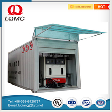 Mobile service portable petrol diesel gas station container