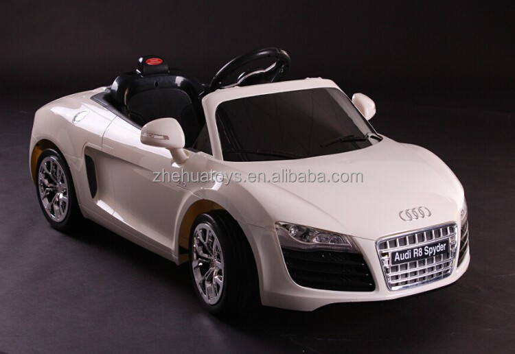 High quality smart kid car toy,rc audi r8 toy car,electric toy cars for kids with horn sound and MP3