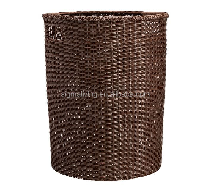 Hot sale simple handicraft wicker woven oversized storage basket