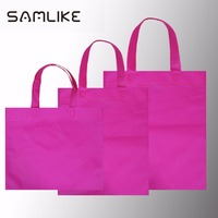 OEM colorful printed fashion promotional gift foldable pp laminated non woven shopping bag with customized logo