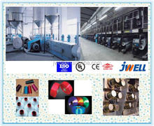 JWELL - PET BCF Yarn making machine/polyester blanket carpet fiber making machine