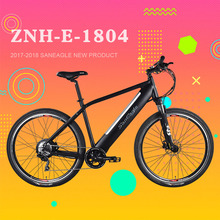 2017 hydraulic disc brake aluminum double wall rim 35km/per hour electric bike