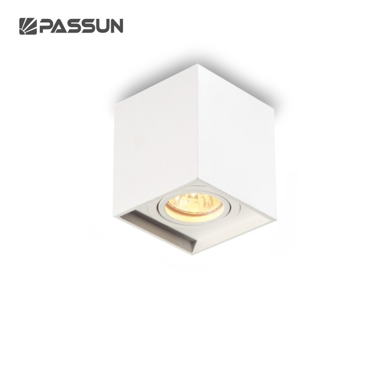 top sales gu10 socket max 50w led recessed ceiling light
