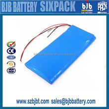 Customized 36v 4.4ah 10s2p lithium ion battery pack for electric self-balancing scooters
