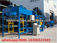 QT4-20 brick making machine price list/ semi-automatic block making machine sale