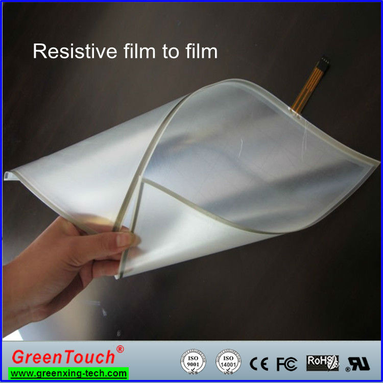 "4 Wire/5 Wire touch film 15"" resistive foil and soft touch film for 4wire or 5wire"