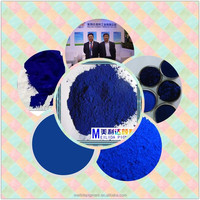 Reddish and brilliant shade high strength pigment blue for textile print