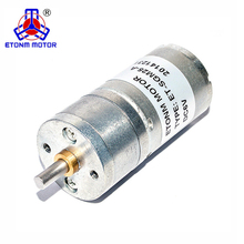 25mm 4mm shaft 3V 6V 300rpm metal gear PM DC Spur Geared Motor for coffee grinder motor