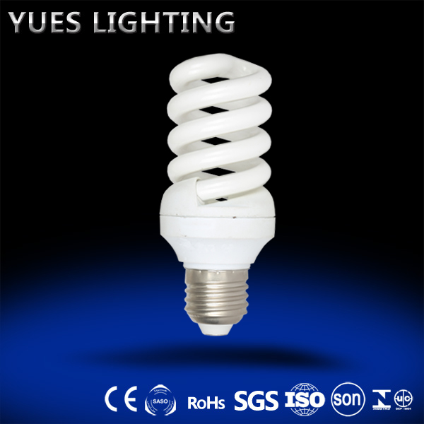 good quality small size full spiral 15W tri color power 2700-10000K white color