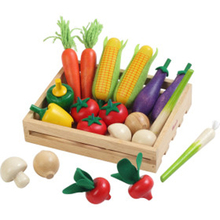 China Manufacturer cutting fruit vegatable set educational kitchen toy for children