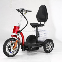 big adult three 3 wheel electric scooter/electric scooter motorcycle