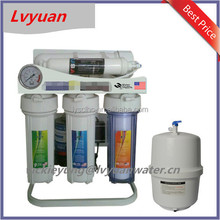 Guangzhou Lvyuan high filtration pi water filter/under sink water purifier