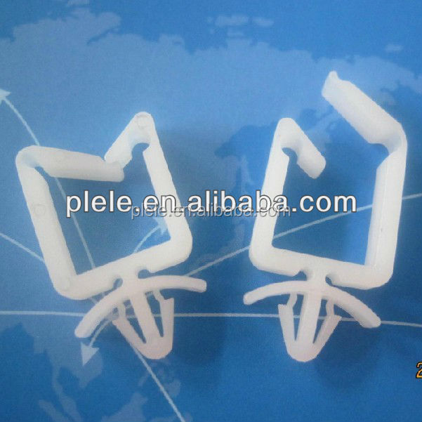 2015 HOT SELL ROHS UL Nylon / plastic natural wire saddle / wire clip