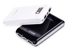 10400 mAh Heavy Duty 2A/1A Dual USB Ports External Battery Pack for iPad, iPod, iPhone, Android, Tablets, Smart Phones and More