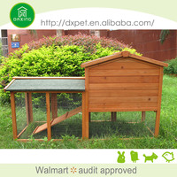 Hot selling portable wooded rabbit houses