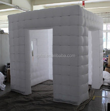 2015 new design white inflatable photo booth for event/party/wedding