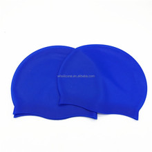 Flexible customized logo swimming cap silicone wholesale silicone swim caps silicone custom