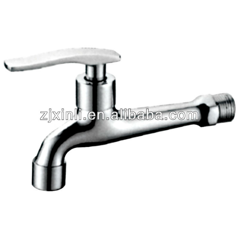"High Quality Brass Bib Tap, Polish and Chrome Finish, <strong>M1</strong>/2"" Wall Mounted, X5606L"