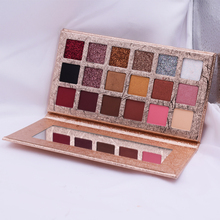 In stock 18Color Eyeshadow Rose Gold Eye Shadow Palette Shimmer Matte Eye shadow Pro Eyes Makeup Cosmetics Best Quality