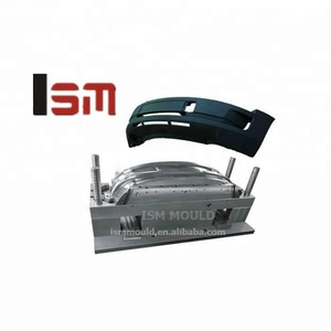ISM car front bumper injection plastic mould
