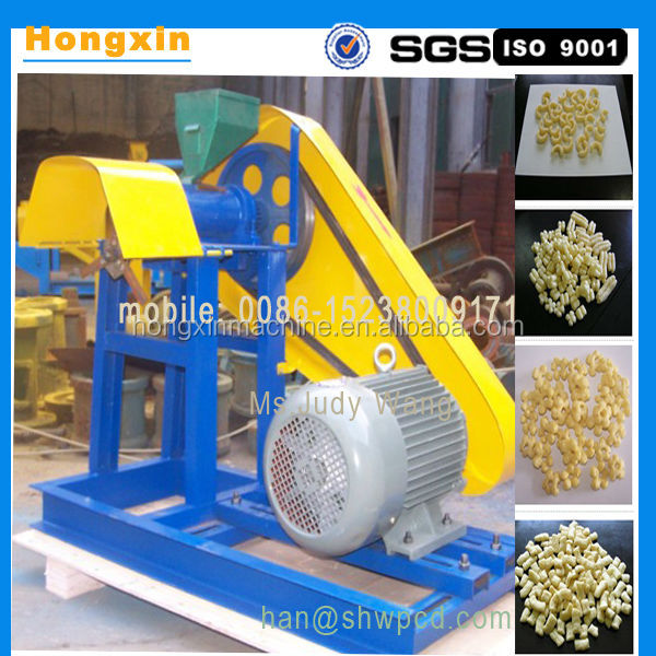 top quality small Puffed corn snack machine rice snack extruder