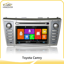Touch screen 7 inch Toyota Camry car dvd player with dvd/cd/mp3/mp4/bluetooth/radio/pip/tv/gps/