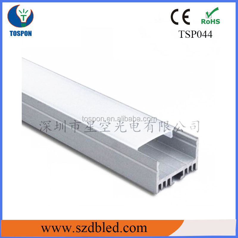linear led suspended light/hanging profile/U channel aluminum