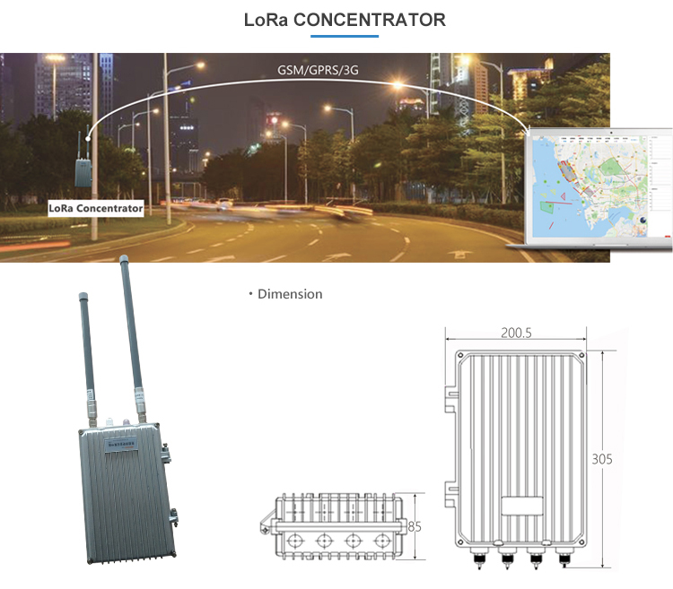 Lora protoco 100Wl smart led street light driver with wireless integrated controller
