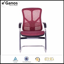 Office furniture ergonomic chair with stable aluminum base